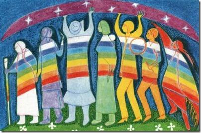 Peuple arc en ciel Femmes_Autochtones